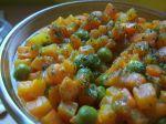 Korenená dusená zelenina