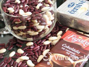 Čokoládovo-fazuľový krém