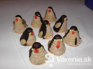 Osie hniezda - tučniaky