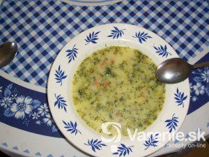 Jemná brokolicová polievka