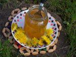 Púpavový med s pomarančom
