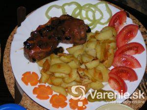 Kuracie chipsy s paradajkami