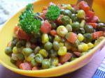 Dusená zeleninová zmes
