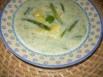 Fazuľková polievka s kôprom