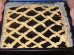 Mriežkový koláč s džemom