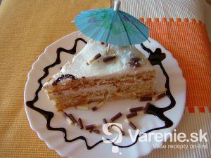 Letná torta s čerstvým ovocím
