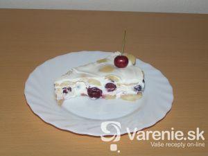 Nepečená čerešňová torta