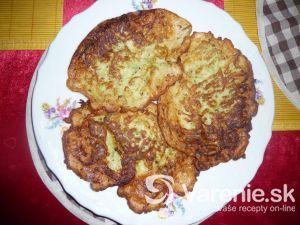 Cuketové zemiakové placky