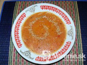 Paradajková polievka 1