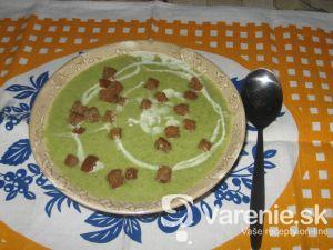 Blesková brokolicová polievka