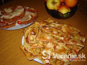 Pizza zo zemiakového cesta