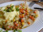 Kuracie plátky dusené na zelenine