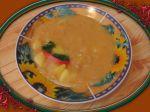 Kapustová polievka so zemiakmi a fazuľou