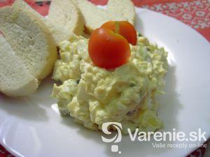 Vajíčkový šalát s majonézou