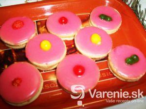 Ružové tortičky