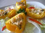 Zapečené plnené papriky