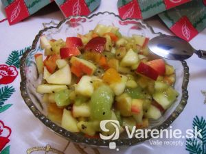 Ovocný šalát plný zdravia