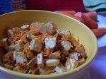 Marinované tofu s medom