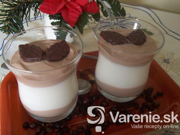 Čokoládovo-kávový krém