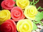 Marcipánové ružičky
