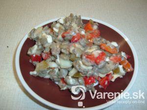 Šošovicovo-zeleninový šalát