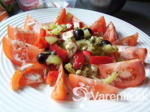 Zeleninový surimi šalát