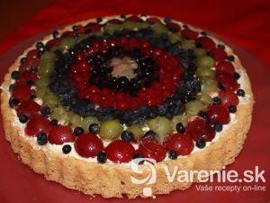 Ľahká ovocná torta