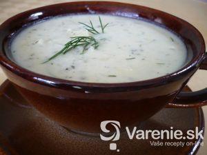 Bryndzová polievka s kôprom