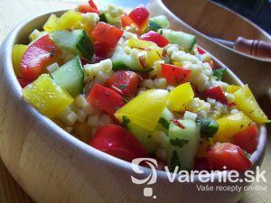 Zeleninový šalát s broky