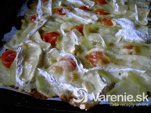 Zemiaková pizza s hermelínom