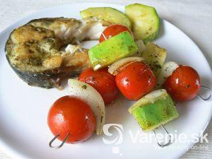 Zeleninový špíz s Amure