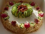 Slaná syrová torta