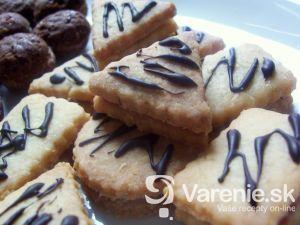 Kokosové plnené keksy