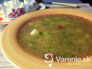 Pikantná cesnaková polievka