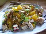 Vegetariánsky šalát s tofu