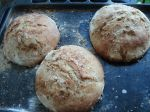 Domáci chlieb s bazalkou