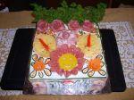 Slaná torta smajlík