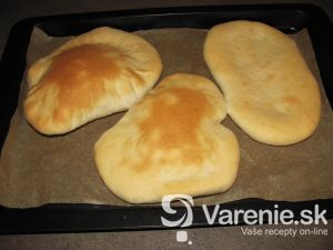 Chlebová placka - arabský chlieb