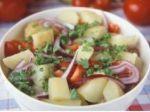 Letný zeleninový šalát