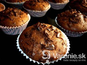 Čokoládové muffiny 1