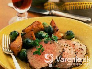 Korenené hovädzie pečené mäso