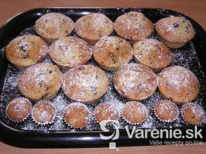 Mandľové muffins