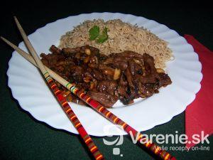 Kung Pao z bravčového mäsa