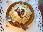 Pravé slovenské halušky s bryndzou a slaninou