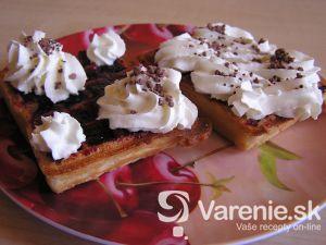 Raňajkové wafle