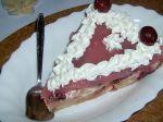 Višňová nepečená torta