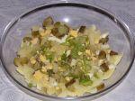 Odľahčený zemiakový šalát