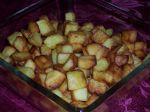 Nevarené opekané zemiačiky