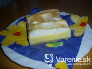 Snehové vanilkové rezy