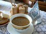Zemiaková polievka s hubami